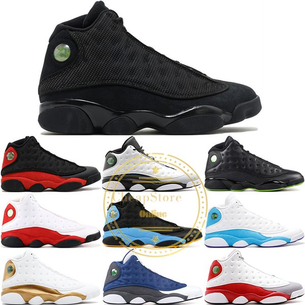 13 13S Mens Basketball Shoes Chicago Bred Release Ray Allen Love Respect History Of Flight Women Men Sports Trainers Designer Sneakers 41-47