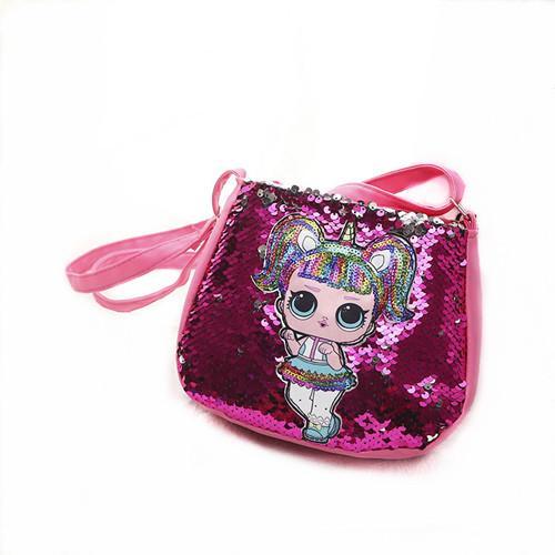 5coulor Cartoon Kids handbag Children Mini Messenger Bags Girl Dolls School Bag Satchel for Girls Crossbody Shoulder Bags Clutch Pouch zx01