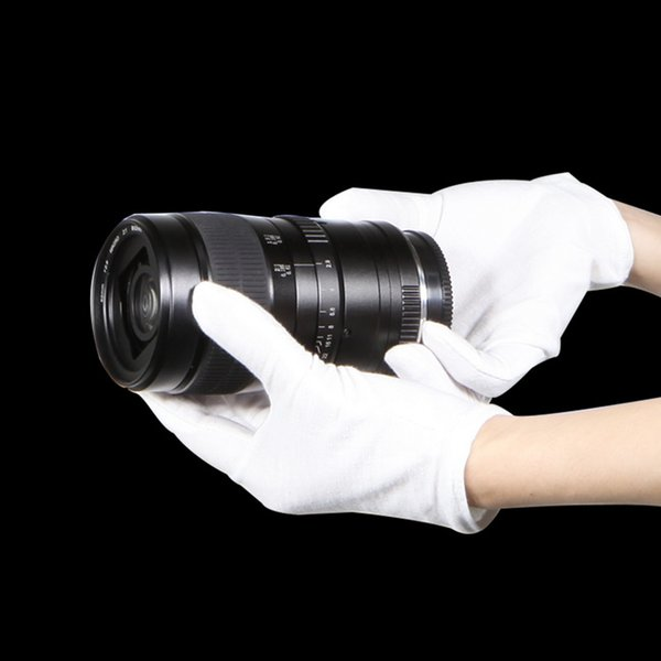 Barato - 1 par Luvas brancas fotográficas - para produtos de fotografia de tiro Acessórios de estúdio - impressões digitais anti-impressão digital barata