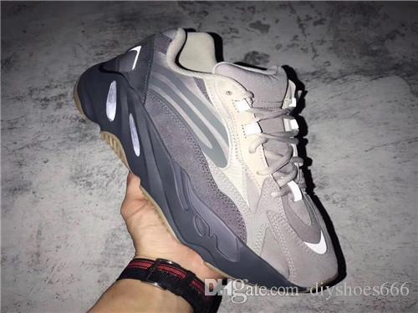 Кроссовки Hotsale 700 для мужчин женские Utility Black Vanta Tephra Inertia Salt Start Wave Runner спортивные кроссовки кроссовки размер 36-46
