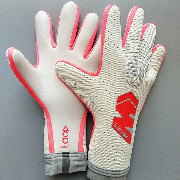 Size 8 9 10 vg3 gt brand goalkeeper glove latex occer goalie football luva guante, Black