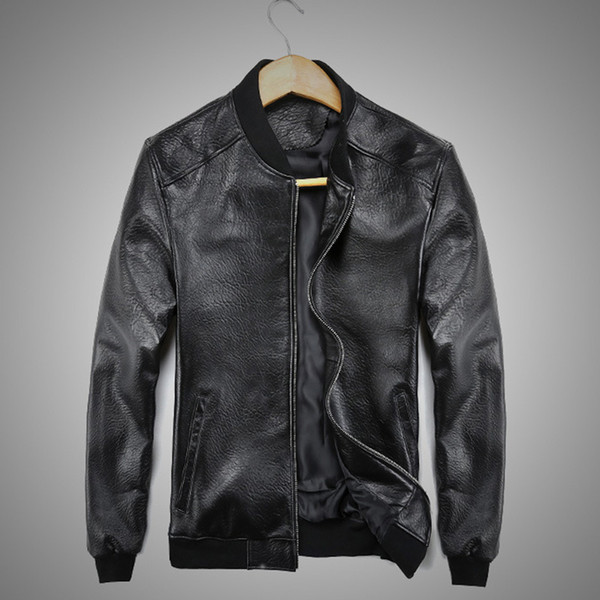 Drop Shipping Men Skull Embroidery sheepskin Genuine Leather Coats 3XL Motorcycle Jacket Real 2019 clothing Slim Fit Black color