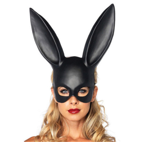 2020 горячие продажи 1шт сексуальный мяч Маска Хэллоуин длинные уши маска для партии костюм косплей Маскарад