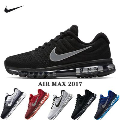 top popular Drop Shipping 2017 New Arrivals Men Women Maxes Shoes Sneaker Black White Maxes 2016 High Quality Sport Running Shoes US Sz5.5-11 2020
