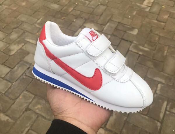 2018 Yüksek Kalite Çocuk Koşu Ayakkabıları Koşu Rahat Tuval Ayakkabı Klasik Tasarım Bebek Çocuk Spor Sneakers