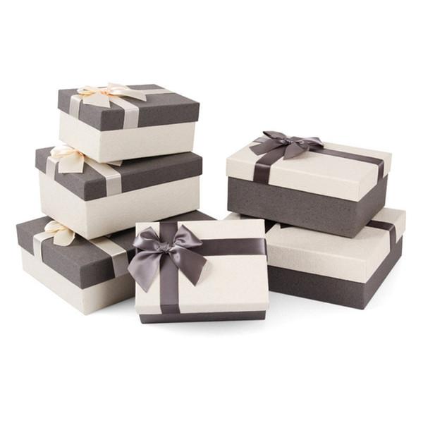 Hochzeitsgeschenk-boxen Urlaub Geschenkpapier Kreative Hochzeit Pralinenschachtel Schmetterling Bogen Band Geburtstagsfeier Verpackung Box