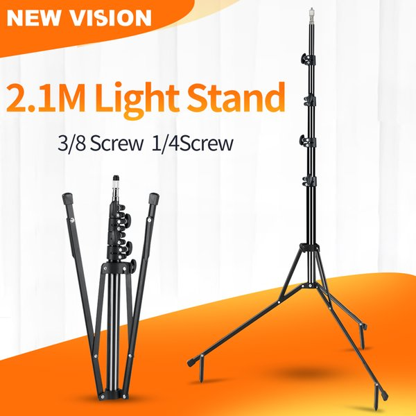 Zubehör 5-teilig 210cm 83 '' Reverse Legs Light Ständer Reverse Fold Studio Fotoständer Photo Studio