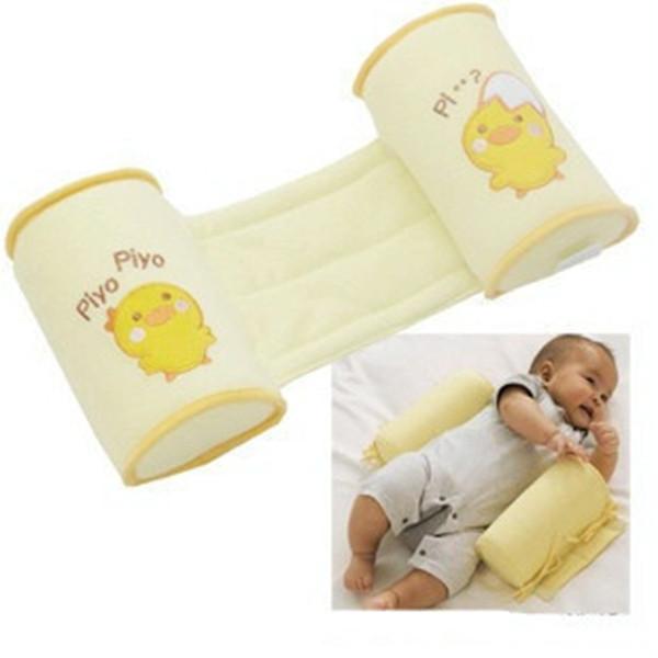 Baby neugeborenen Krippe Infant Baby Kleinkind sicher 100% Baumwolle Anti Roll Kissen Schlaf Flat Head Positioner