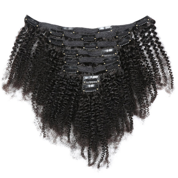 Cabelo Afro Kinky Curly Clip