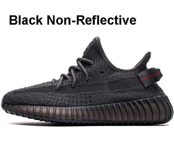 Schwarz, nicht reflektierend