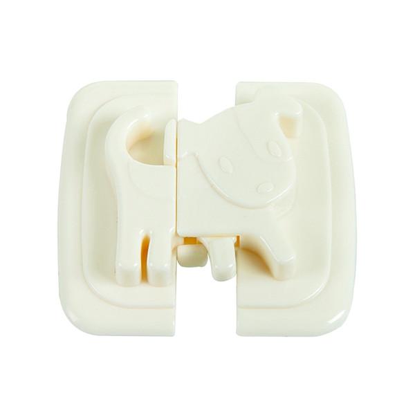 Creative Baby Cabinet Locks Straps Child Safety Lock Baby Button Refrigerator Toilet Wardrobe Lock Buckle