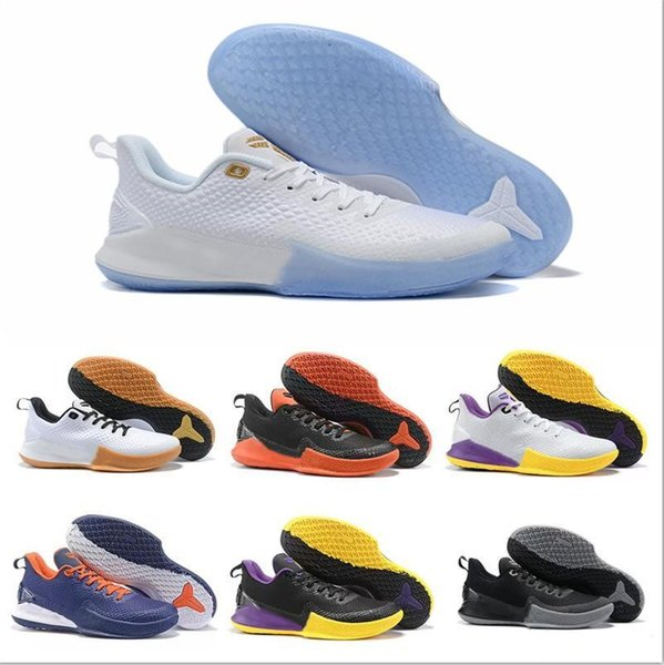 2019 Cheap Sale Kobe MAMBA FOCUS EP Mens Basketball Shoes For Good Quality KB 7 Training Black Yellow Fashion Sports Sneakers Size 7-12