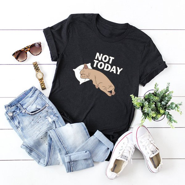 2019 Summer Women New Fashion Plus Size Quality Style Lovely Dog Print T-shirts Female Tops Streetwear Vintage Camiseta Mujer