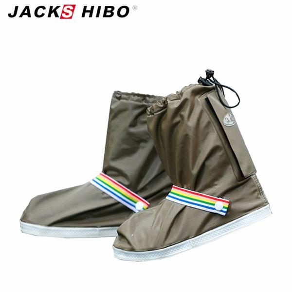 Copriscarpe impermeabili moda JACKSHIBO da uomoCappelli da pioggia da donna per calzature Accessori per calzature da esterno