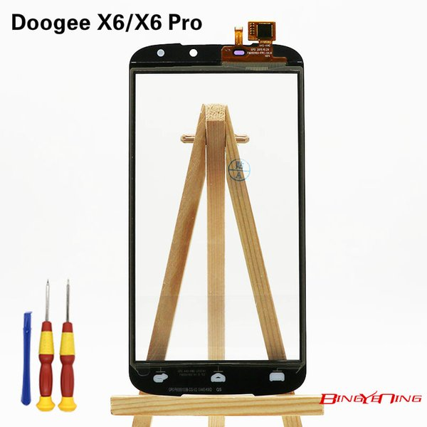 BingYeNing New Original For Doogee X6/X6 Pro Touch Screen Panel Perfect Repair Parts