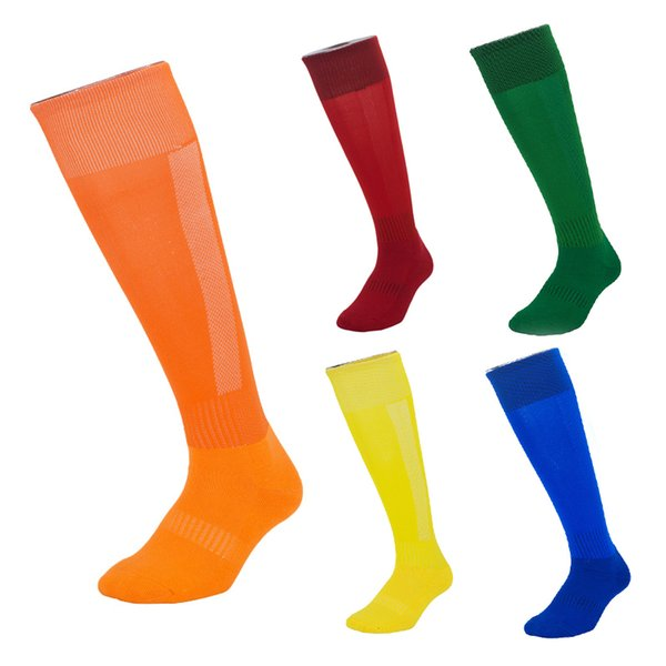 Elite Sports Football Socks Cotton Adult Kids Knee High Top Quality Outdoor Cycling Running Hiking Long Stockings Basketball Socks M115Y