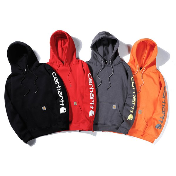 8 Colors Spring 2020 Big Children Hooded Sweatshirts Letter Printed Hoodie Pullover Woman Men Sweatshirts for Teenager Clothes M1027
