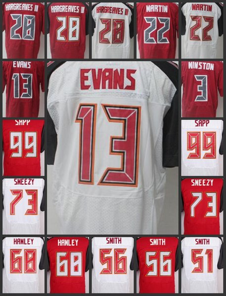 best cheap 56804 0f974 2019 Tampa Bay Top Men #28 Vernon Hargreaves Women Buccaneers Jerseys 13  Mike Evans 3 Jameis Winston 22 Doug Martin Youth Embroidery Jersey From ...