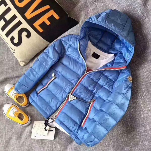 Yüksek Kaliteli çocuk çocuklar kış giyim Perakende Çocuk s kış Aşağı Ceketler Bebek Aşağı Ceket Erkek Giyim Kalınlaşma perakende 4-10 T