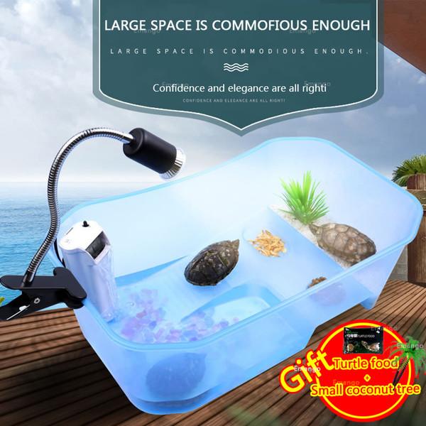 Fish Tank ouvert en plastique avec boîte à incubateur pour maison à plate-forme pour isolement de frites écloserie de tortues à cage de reptiles