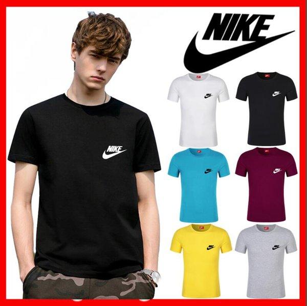 2019 novo estilo Designer de Marca dos homens T-shirt de manga curta pentagrama estrela listrado impressão Tshirt dos homens de Algodão Casual t camisas dos homens Tops