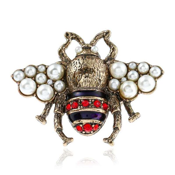 Hotsale Personality Women Ring Gold Plated Crystal Insect Bee Ring for Girls Women Special Gift for Friends NL-712