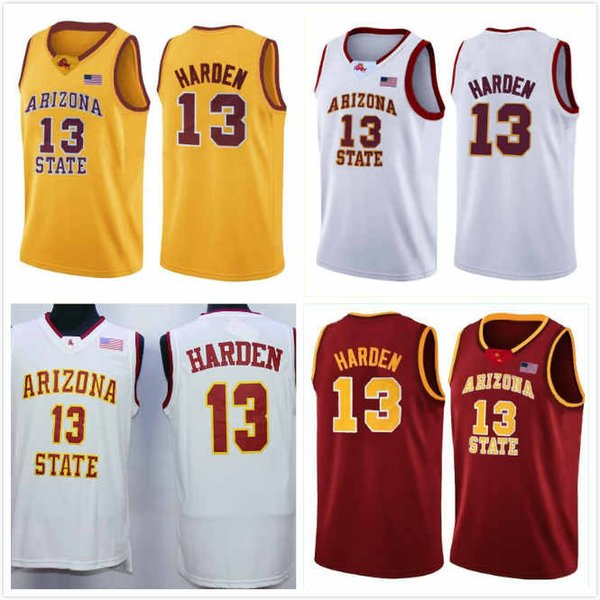Custom Arizona State Sun Devils Jersey Zylan Cheatham 45 Romello White 23 Kimani Lawrence 14 Taeshon Cherry 35 De'Quon Lake 32 Basketball