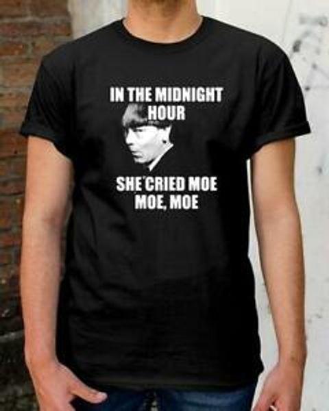 Monty Python En la hora de la medianoche ella gritó Moe Moe Moe - Camiseta