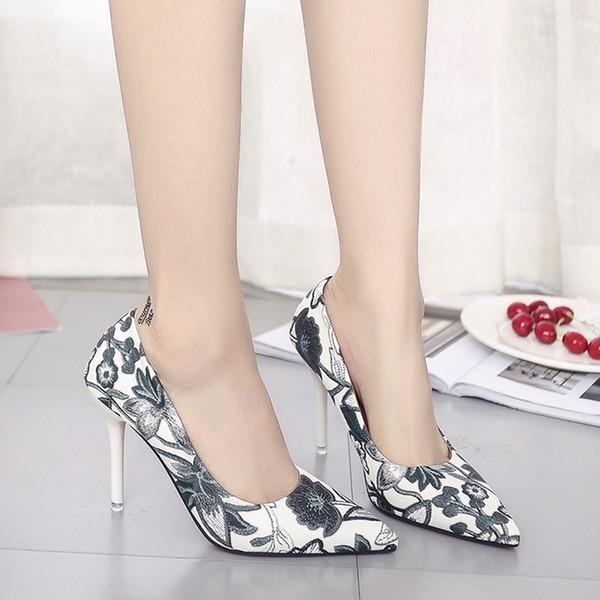 Dress Womens Shoes Super High Heels 10cm Ladies Pumps Slip-on Party Wedding Shoes Fashion Classic Italian Designer Elegant Best Seller