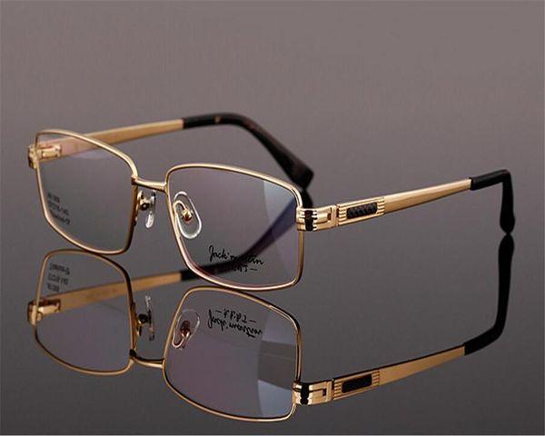 DOWER ME Markendesign Titan Herren Vollrand-Progressiv-Brillenglas mit Weitbrillen Siehe Ferne Ferngläser ZM81369