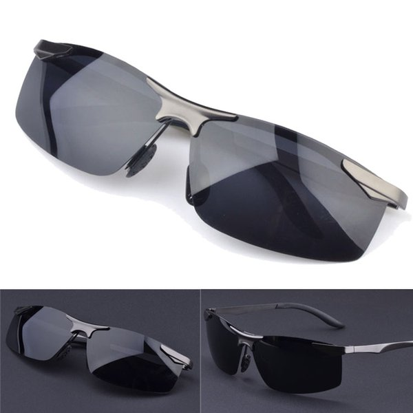 Lentes polarizadas de alta calidad para gafas de sol de moda para hombres y mujeres Diseñador de la marca Vintage Sport Gafas de sol Con estuche y caja