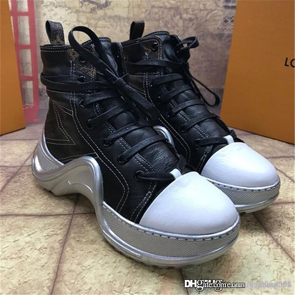 2019 Marque Fashion Luxe Designer Chaussures Femmes Superstar Chaussures ARCHLIGHT SNEAKER BOOT Chaussures femmes Casual sport de haute qualité Chaussures