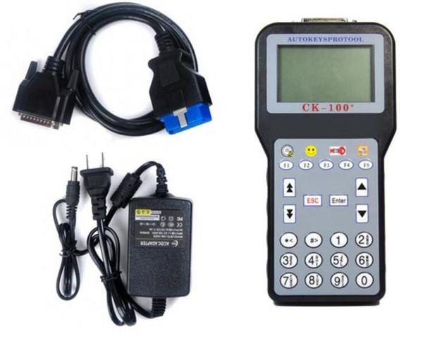 High quality CK-100 Auto Key Programmer V46.02 Newest Generation SBB CK100 Programming with Free Shipping Multi-language