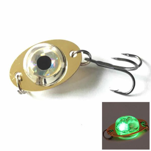 Green light + Black Nickel Hook
