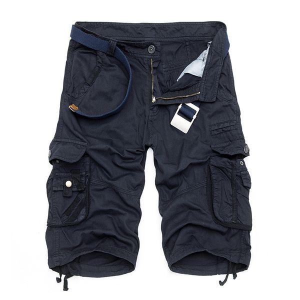 Camo Military Shorts Bermuda 2017 Summer Camouflage Cargo Shorts Men Cotton Loose Tactical Short Pants No Belt S430