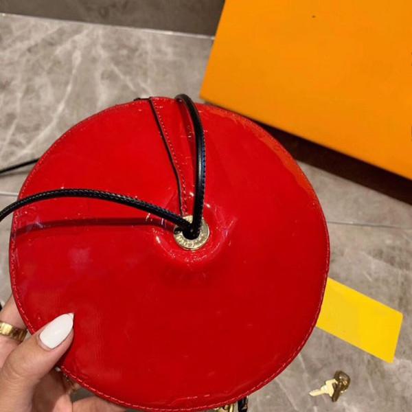 Frete Grátis Bolsas de Couro Bolsas de Grife de 20 cm de Moda de Cor VERMELHA Best Selling Das Mulheres Sacos de saco de Pires Voadoras quentes mulheres sacos senhoras quente