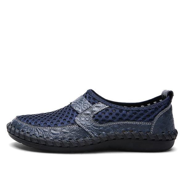 Jkpudun Sommer Atmungsaktives Mesh Männer Schuh Leichte Turnschuhe Männer Mode Männlichen Freizeitschuhe Marke Designer Slip On Herren Loafer