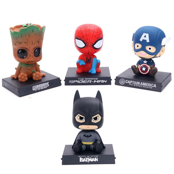 Funko pop vingadores: endgame justiça figuras de ação liga marvel vingadores super hero personagens modelo de ação de vinil figuras de brinquedo melhor presente