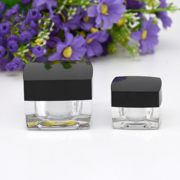 Mini 5g 10g Sample Eye Cream Jars Gel Nail Polish Body Glitter Concealer Face Foot Mask Oil Empty Containers Packaging 100pcs