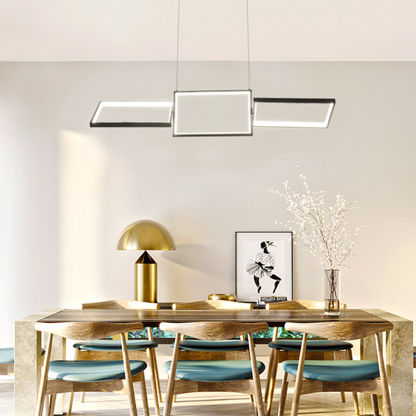 Ciondolo luce LED Moderna Con Telecomando Nordic A sospensione Per Office / Dinning Room Art Deco LED Light Fixture