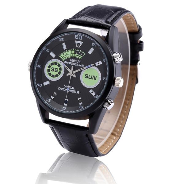 32GB di memoria integrata Braccialetto fotocamera HD 1920 * 1080P Wristband Watch Cam con Smart Sport Watch Motion Detection Video Cam PQ543A