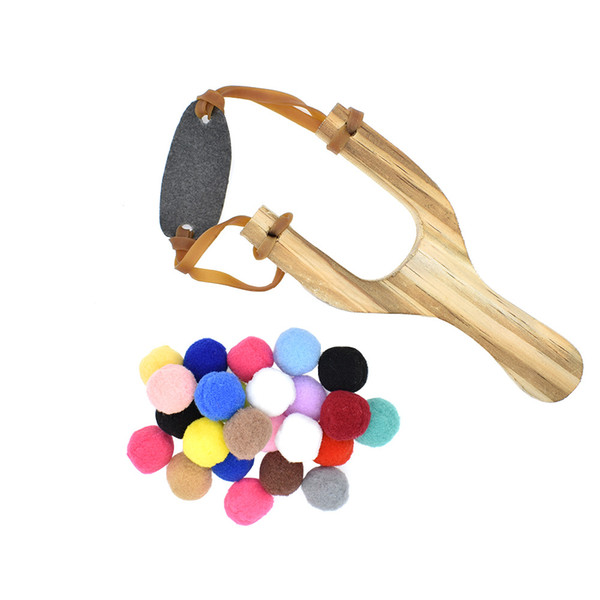 top popular Slingshot with Cotton Ammo for Outdoor Games Safe for Kids Hunting Game for Kids Children Adults 2021