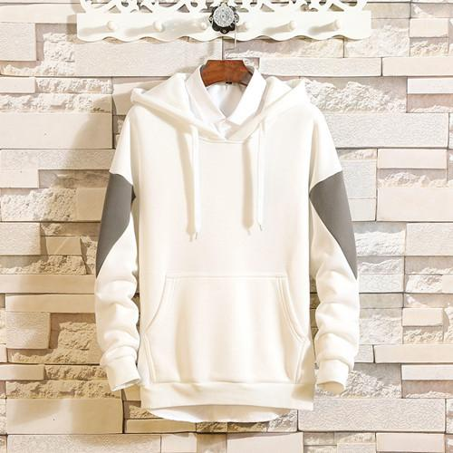 Designer Hoodies Fall Slim Sweatshirt Warm Autumn white hoodie Sweaters Black Pullovers Clothing For Man Cotton Knitted Sweaters