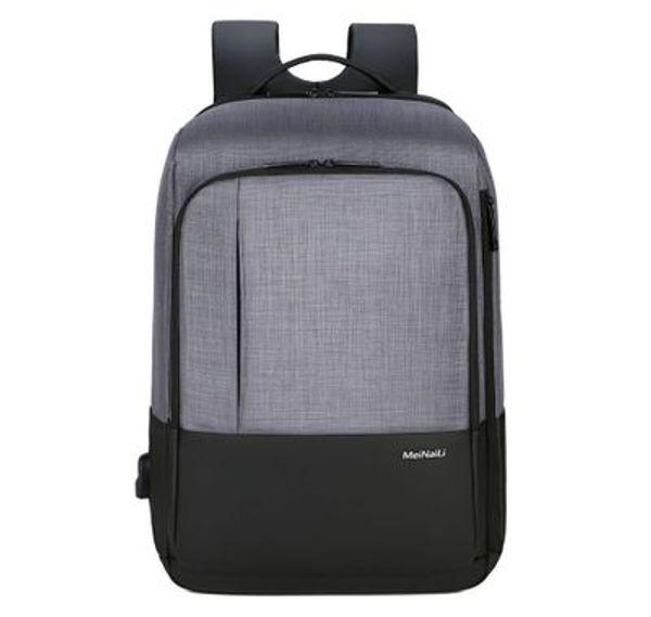 The new 2019 laptop bag student recreation bag waterproof backpack