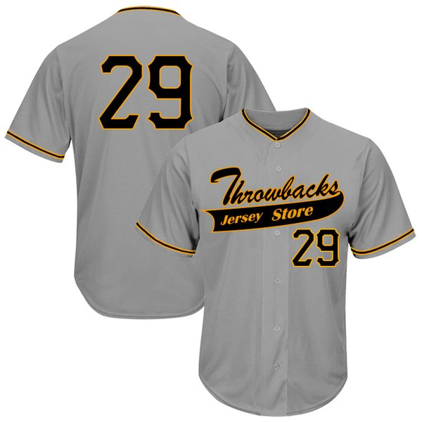 Throwbacks Commemorative Jersey No29 Exquisite Embroidery High Quality Cloth Breathable Sweat Absorption Professional Jersey Production 2019