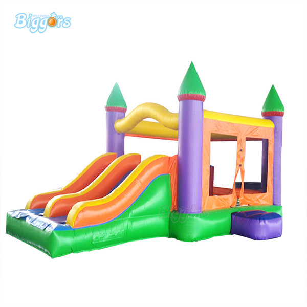Best Commercial Use Inflatable Bounce House Outdoor Bouncer Jumping Castle Trampoline House with Slide for sale