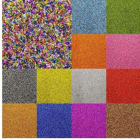 1000 Teile / paket Mode 15 Farben Columniform Glas DIY Für Halskette Armbänder Charming Lose Perlen