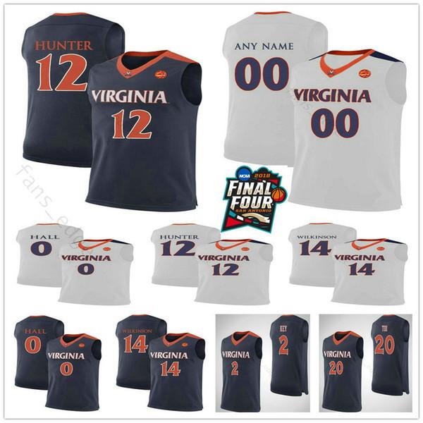 Jack Salt Virginia Cavaliers Final Four Basketball Jersey - Navy