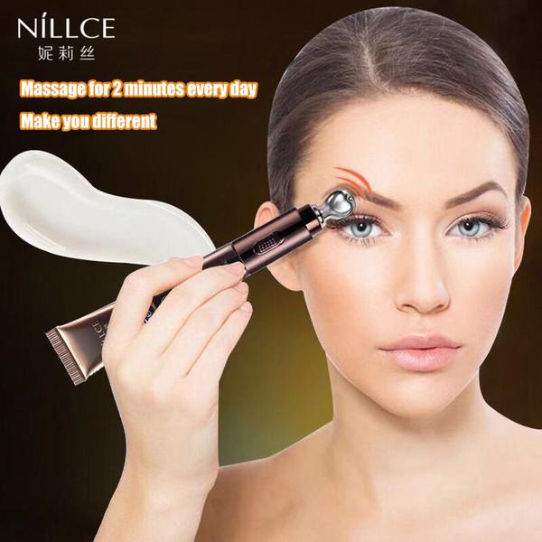 NILLCE electric Eye cream Anti Wrinkle Remove eye Bag Anti Puffiness Dark Circles Fat granule Moisturizing care Relieve fatigue