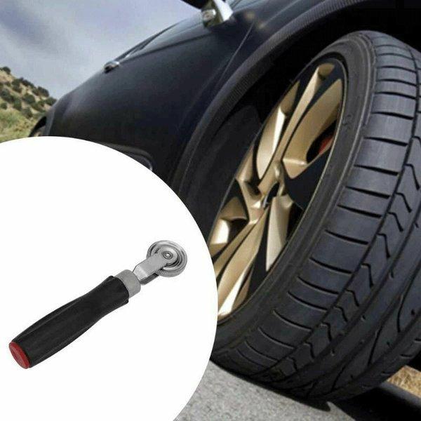 """Tyre Auto Wooden Handle 1 1//2/"""" Bearing Car Repair Tool Car Tire Repair Roller"""